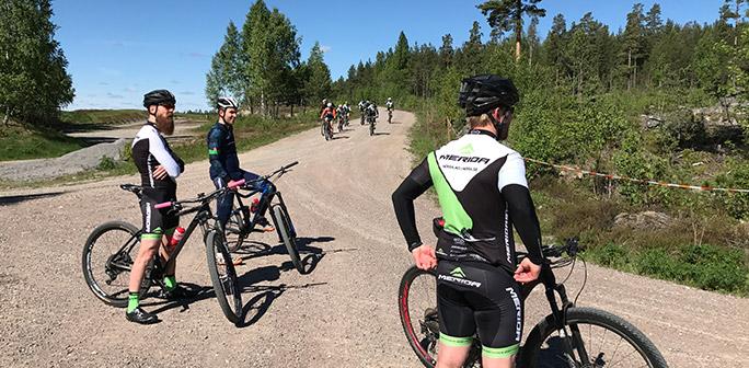 Cyklister vilar