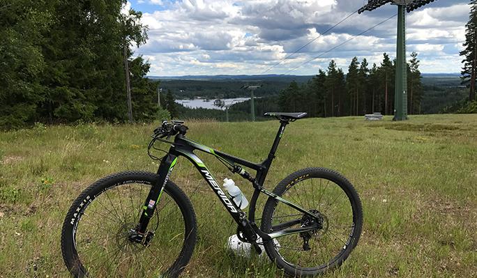 Bild på cykel i Isaberg