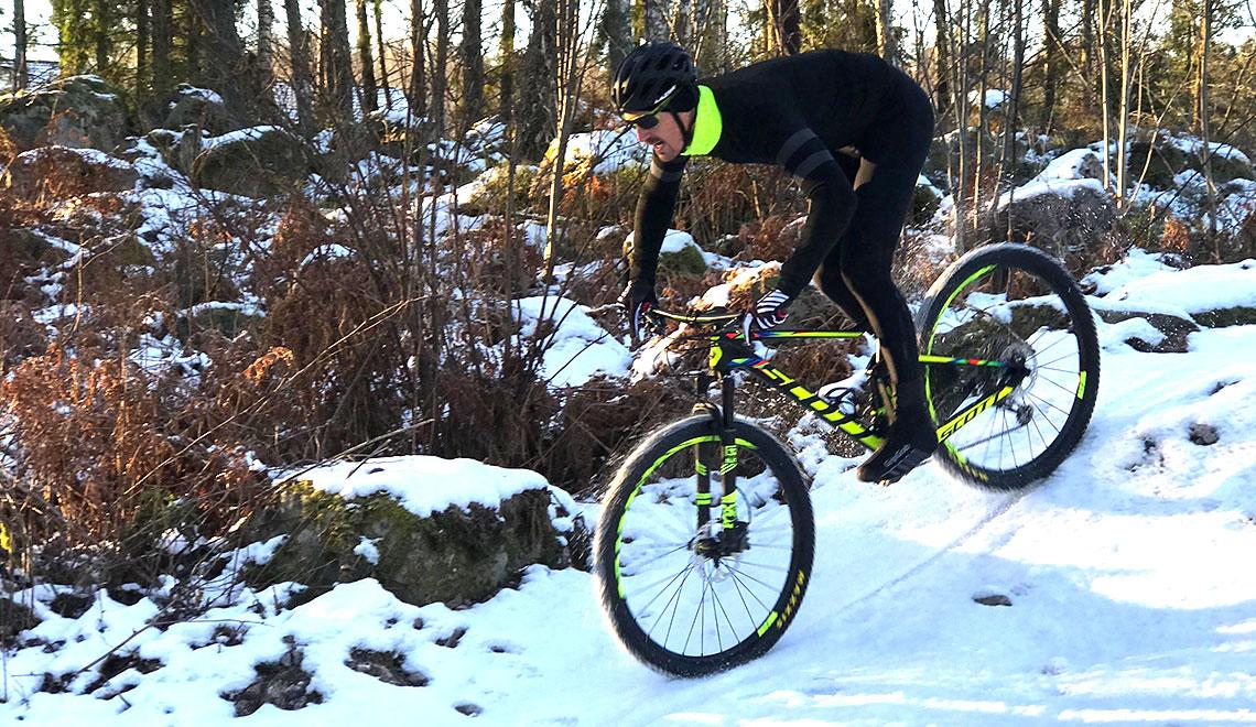 Cyklist Grib Grab